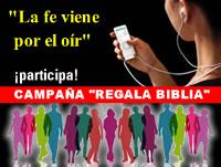 "Campaña divulgativa ""Regala Biblia"""